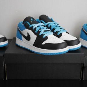 Air Jordan 1 Low Laser Blue CT1564-004 Youth
